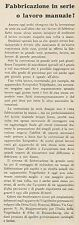 Z3309 Voigtlander - Carlo Ronzoni - Milano - Pubblicità d'epoca - 1930 Old ad