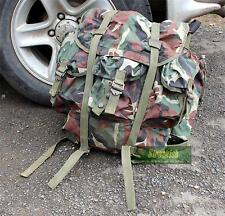CROATIAN ARMY BACKPACK RUCKSACK IN WOODLAND CAMO 52L