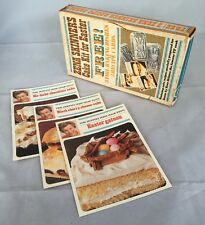 Vintage Free Gift From Real Dairy Cream Zena Skinner Easter Cake Kit Recipe Card