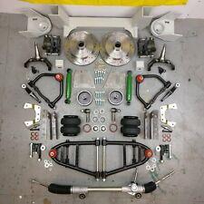 """47-54 Chevy Truck Mustang II IFS AirBag 2"""" Drop 5x5 Manual LHD Rack Hub To Hub"""