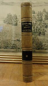 Droit criminel (Boitard) 1851
