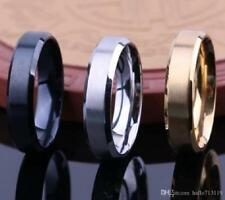 Timeless Stainless Steel 8mm Men's Wedding Type Bands Canadian Seller