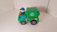 The Learning Journey On Go Recycle Truck Boys Girls Play Pretend Preschool Toys