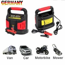 Auto Batterieladegerät 12V/24V 15A intelligente Akkuladegerät Motorrad LKW KFZ
