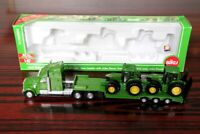 1:87 Siku 1837 Low Loader With 2 John Deere Tractors Toys Hobbies Car Models