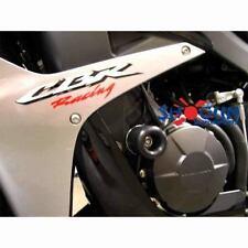 Honda 2007-2008 CBR600RR 600RR Shogun Racing Frame Sliders Kit Black - NO CUT