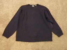 IZOD mens sweater, navy blue, size L