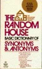 Random House Basic Dictionary Synonyms and Antonyms Urdang, Laurence Mass Marke