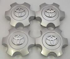 4x Toyota Tundra Sequoia 2003 2004 2005 2006 2007 Silver TOYOTA Center Caps Cap