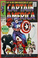CAPTAIN AMERICA 100 Marvel Silver Age 1968 Big Premiere Issue