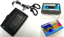 RARE VINTAGE - MEMOREX AM/FM CASSETTE PLAYER WITH GRAPHIC EQUALIZER MRX-225 SET