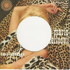 MARIO ZELINOTTI  LEI DICE  ONLY COVER