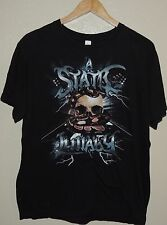 A Static Lulaby T Shirt Black Rock Concert Tour Tee Size Large