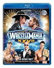 WWE - Wrestle Mania XXVII (Blu-ray, 2011, 3-Disc Set) Wrestlemania 27 Sealed