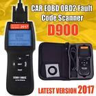2018 Universal Car Fault D900 Code Reader OBD2 EOBD CAN Diagnostic Scanner Tool