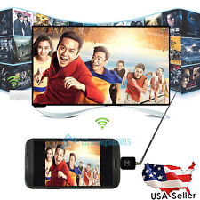 Mini Micro USB DVB-T Digital Mobile TV Tuner Receiver for Android 4.0-5.0 US