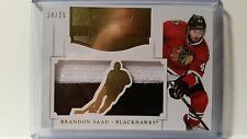 2011-12 Panini Dominion Brandon Saad Mammoth Prime RC 2 Color Jersey 24/25