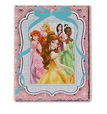 Disney Deluxe Princess Stationery Trifold Journal Note Book Girls Gift New