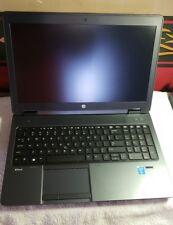 HP ZBOOK 15 G2 MOBILE WORKSTATION, INTEL I7-4810 @2.8GHZ, 8GB RAM, 256GB SSD