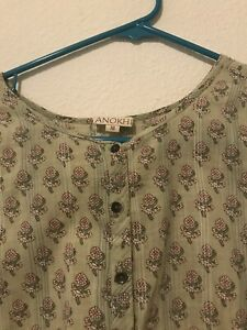 Anokhi Kaftan - Super Condition. Used Just Twice . No Flaws. Size M