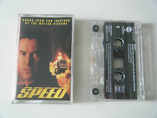SPEED SOUNDTRACK SONGS FROM THE MOTION PICTURE CASSETTE TAPE ARISTA BMG FOX 1994