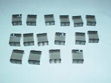 Lego - 16 x fenêtre - 4864b - 7897 4511 10181-Fumée/Smoke