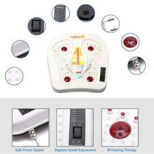 Far-Infrared Foot Massager Vibration Magnetic Wave Heating Therapy Body Relax