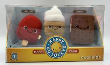 Hallmark Happy Go Luckys Cool Kids Series 1 #24 of 24 Happy Pack Plush Nib