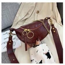 Women Ladies Shoulder Bag Handbag Gold Chain Faux Leather Cross Body Bags Wallet
