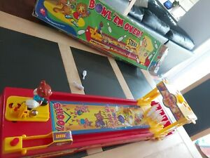 BOWL 'EM OVER GAME - CHAD VALLEY Age 4+ Bowling tabletop game
