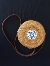 BALI-STYLE WOVEN CROSS-BODY SHOULDER BAG - FREE SHIPPING!!! **Reduced**