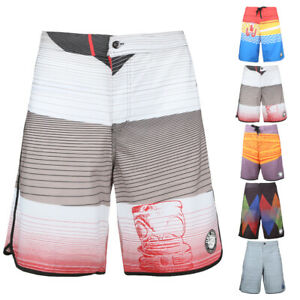 Men's Quick Dry Board Shorts Holiday Hiking Surf Casual Waves Beach Swim Trunks