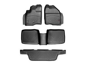 GGBAILEY D2484A-F1A-BLK/_BR Custom Fit Car Mats for 2008 2009 Ford Taurus X Black with Red Edging Driver /& Passenger Floor