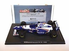 RBA ATLAS Editions Williams Renault FW 18 1996 Damon Hill escala 1:43 (! como Nuevo!)