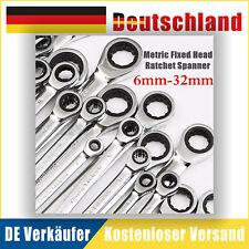Ratschenschlüssel Ratschen Knarrenschlüssel Ringschlüssel 6mm-32mm Knarren