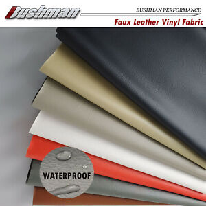 Auto Faux Leather Waterproof Upholstery Craft Fabric Renew Furniture Sofa Seat
