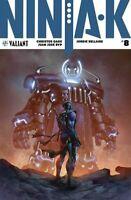 Ninja-k # 8 CVR B 1st Print NM (2018) Valiant Comics New