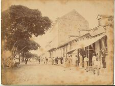 Albumin - Guadeloupe Pointe-à-Pitre Quai Foulon - ca. 1890er