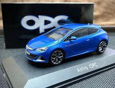 Opel Astra J OPC / GTC 1:43 Collectors Model Car [Colour - Blue] - Vauxhall VXR