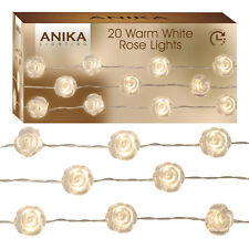 Anika  20 x  Warm White Rose String Lights - 63160