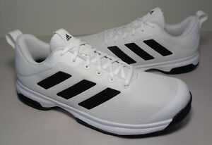 Adidas Size 9 M GAME SPEC White Black Athletic Sneakers New Men's Tennis Shoes