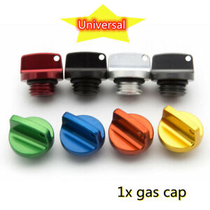 Universal Modified Motorcycle Fuel Gas Cover Tank Cap CNC Aluminum Alloy