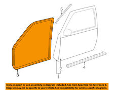 GM OEM Front Door-Weatherstrip Seal 15758703