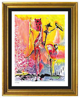 "Salvador Dali Signed/Hand-Number Ltd Ed ""Knight of Middle Ages ""Print (unframed)"