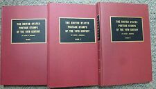 {BJ Stamps} 3 vol. Brookman U.S. Postage Stamps of 19th century  1966-67 Edition