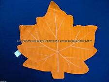 75% OFF! NOBLE EXCELLENCE ORANGE CORD LEAF PLACEMAT US$ 8+ BNEW W/ STICKER LABEL