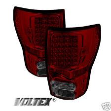 2007-2012 TOYOTA TUNDRA TAIL LED LIGHT BAR LAMP LIGHTBAR RED SMOKE