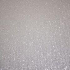 gris con Purpurina Liso Papel pintado DOLCE lentejuelas plateado brillante