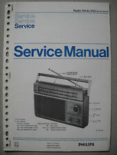 Philips 90 AL510 Kofferradio Service Manual