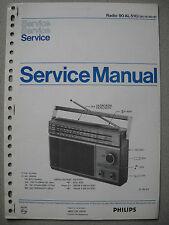 Philips 90 AL510 Kofferradio Service Manual